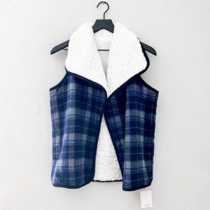 NWT Melrose and Market Reversible Sherpa Vest